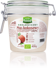 Mus Kokosowy Bio 400ml-LOOK FOOD