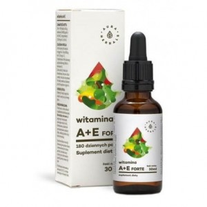 Witamina A+E w kroplach 30ml-Aura