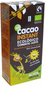 KAKAO INSTANT FAIR TRADE B/G BIO 250 g - ALTERNATIVA