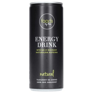 ENERGY DRINK NATURAL 250ML - FOODS BY ANN