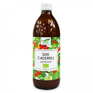 Sok z Aceroli Bio 500ml-Bio Planet