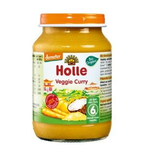 Danie Wegetar.Curry Bio 190g-Holle